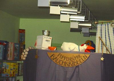"""Puppentheater """"Bauchkribbeln"""""""
