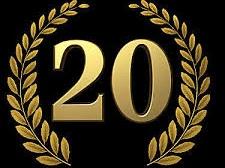 20jähriges Jubiläum