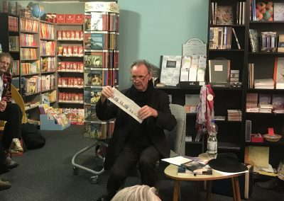 Krimiautor Niklaus Schmid liest bei Tausendundein Buch