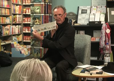 Niklaus Schmid, bekannt als Journalist und Krimiautor, liest aus seinem Formentera-Buch